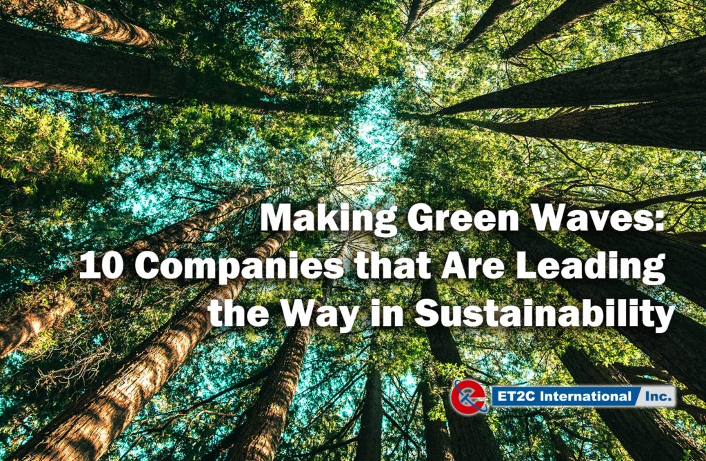 companies in sustainability