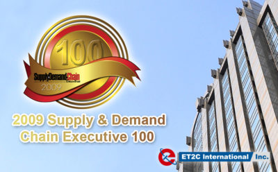 ET2C Honoured in the 2009 Supply & Demand Chain Executive 100