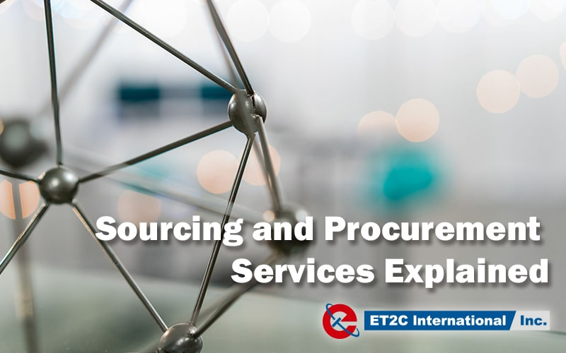 Sourcing and Procurement Services Explained