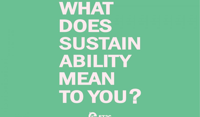 Deconstructing Sustainability