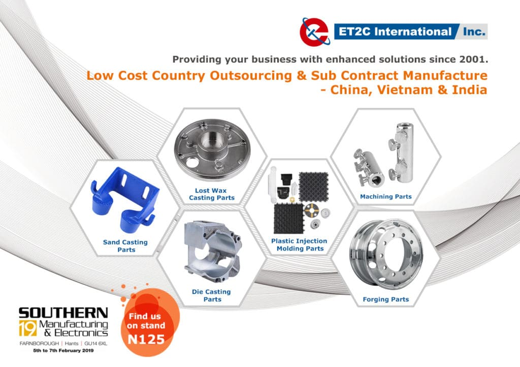 ET2C International manufacturing and electronics
