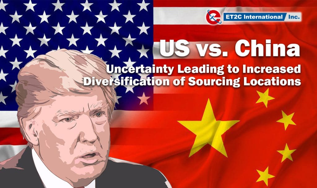 The United States - China Trade War - ET2C International