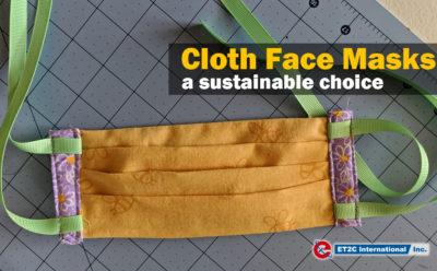 Cloth Face Masks – a sustainable choice