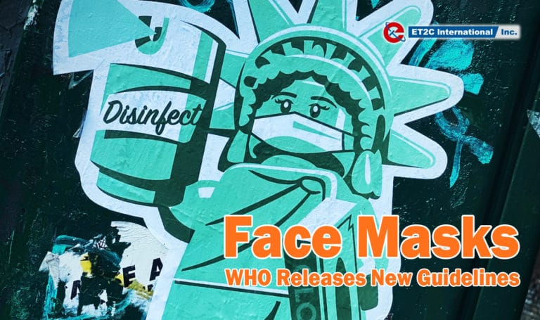 Face Mask – WHO Releases New Guidelines