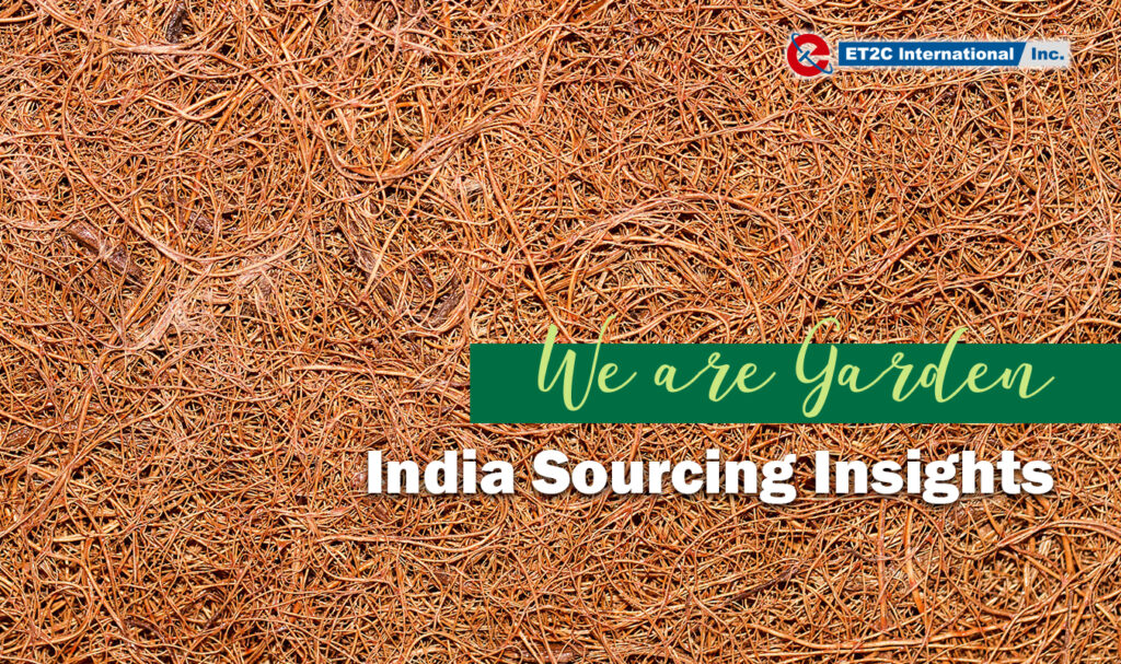 India Sourcing Insights – We Are Garden