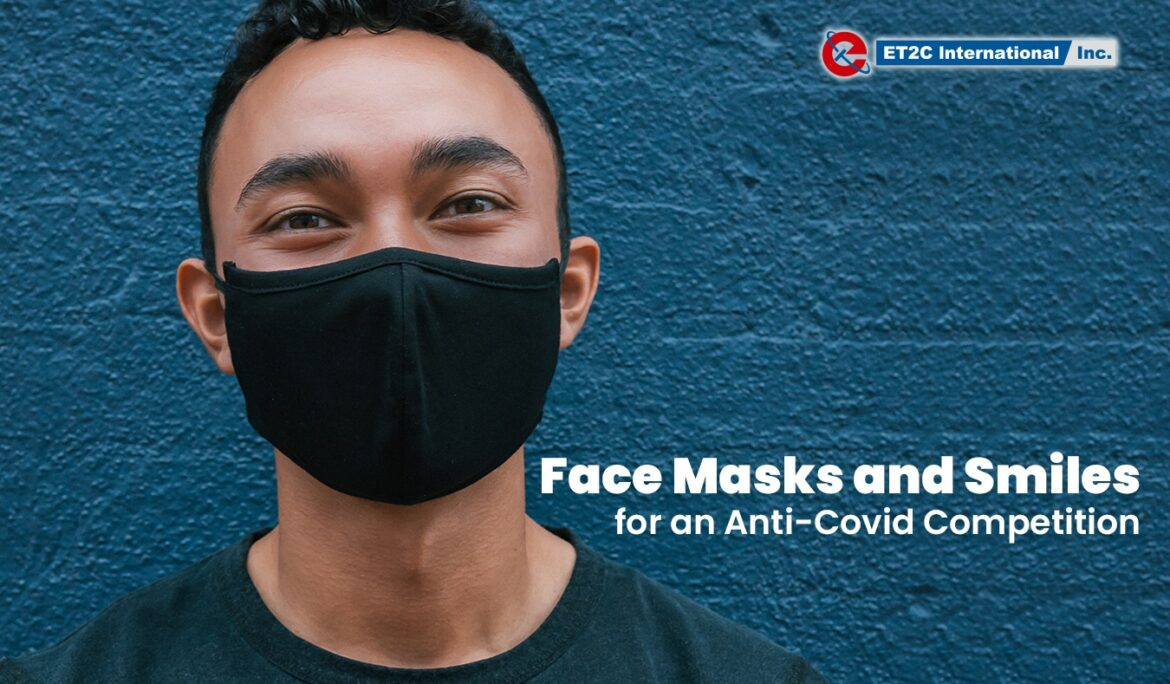 Face Masks and Smiles for an Anti-Covid Competition